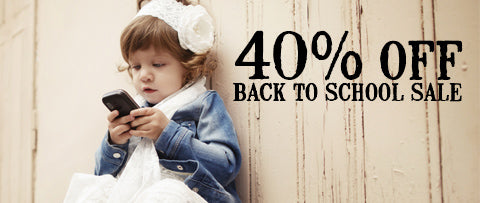 Swank Baby Boutique Back to School Sale 2014