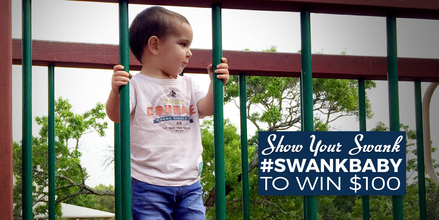 Swank Baby Boutique has launched an online contest called Show Your Swank for baby clothes online.
