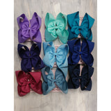 Large Bow 5inch- Multiple Colors - Swank Baby Boutique
