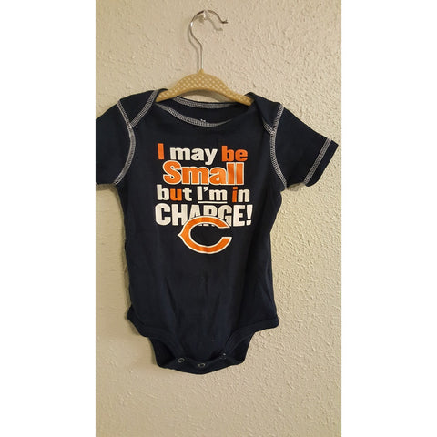 NFL Team Apparel Chicago Bears Onesie Size 12m-Various Colors - Swank Baby Boutique