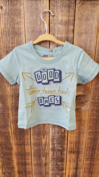The Good Ones Clothing Co. Pale Blue Shirt - Swank Baby Boutique
