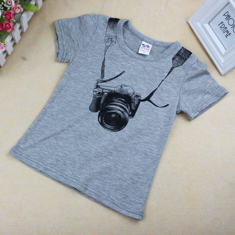 Casual Camera T-Shirt