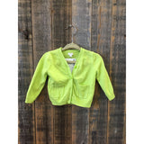 Baby Gap Bright Green Button Down Cardigan Size 3-6m - Swank Baby Boutique