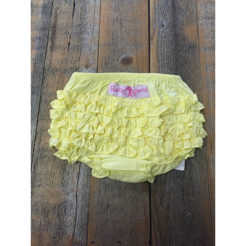 Rufflebutts Yellow Bloomer - New with Tags - Various Sizes - Swank Baby Boutique