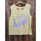 Matilda Jane Hello Lovley Pinky Promise Tank Size 10 - Swank Baby Boutique