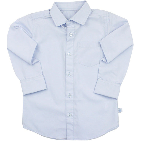 Ruggedbutts Light Blue Formal Button Down - Various Sizes - Swank Baby Boutique
