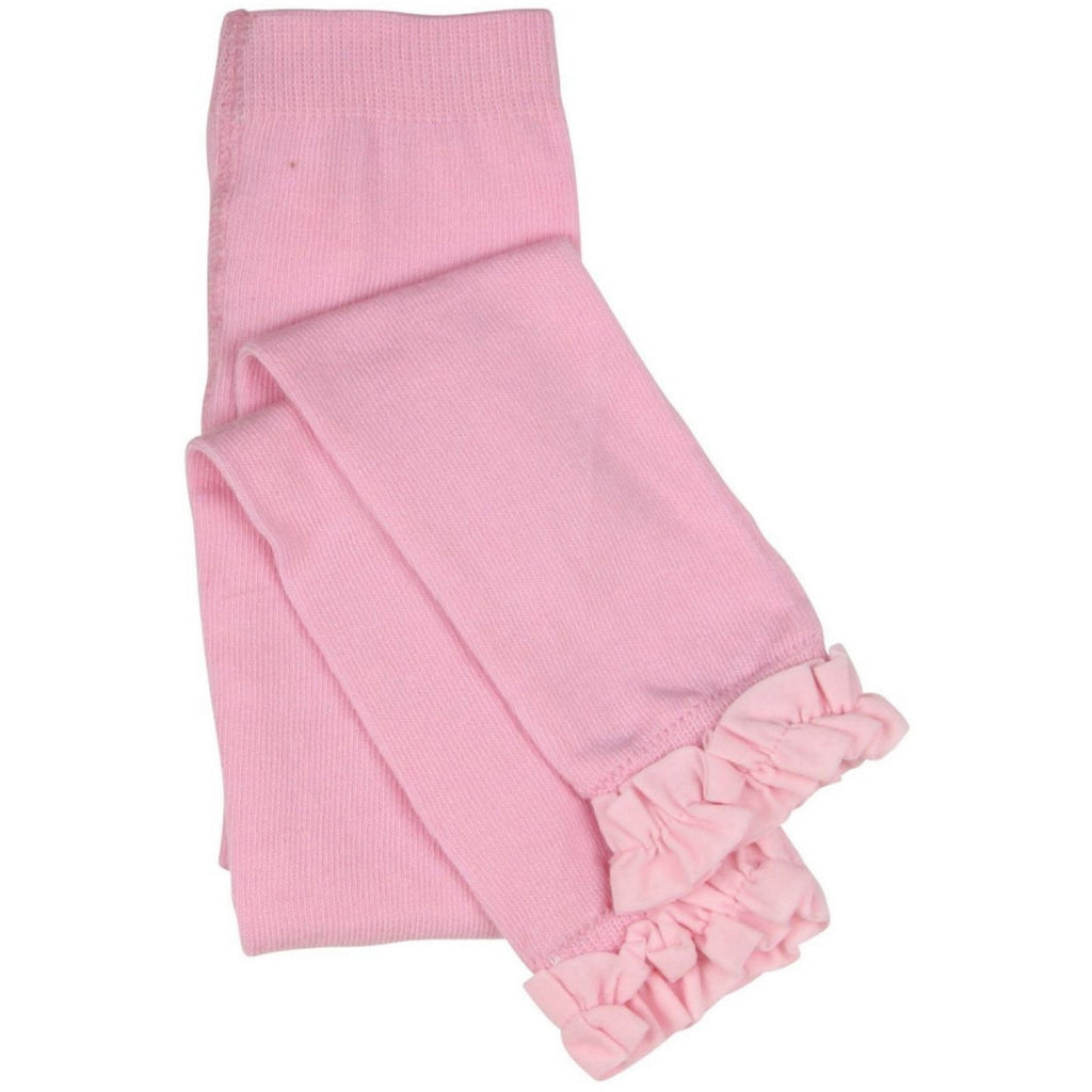 Rufflebutts Light Pink Ruffle Footless Tights - Various Sizes - Swank Baby Boutique