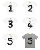 White Birthday Tshirts