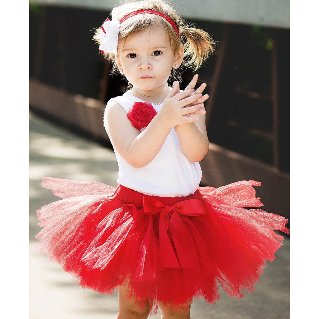 Rufflebutts Red Tutu - Various Sizes - Swank Baby Boutique