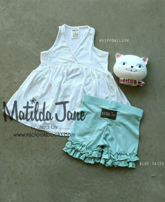Matilda Jane Almost Summer Wipowillow Top Size 10