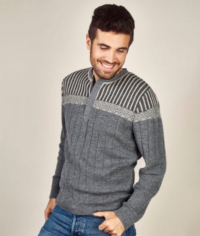 Half-Zip Decab Sweater
