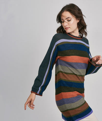 Canto Long Sweater-Dress - Sol Alpaca US