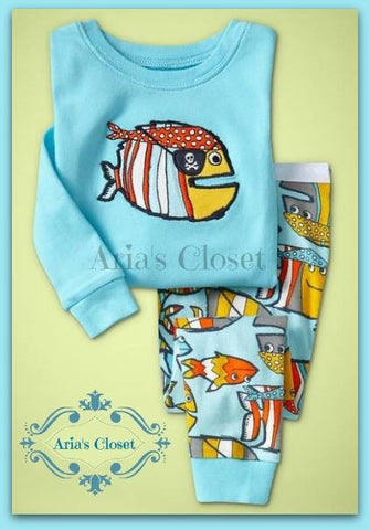 Piranha Pirate Pajamas