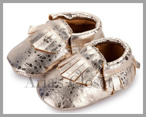 Guilded Slippers (Soft Gold)