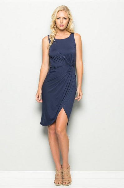 Trista Little Navy Dress