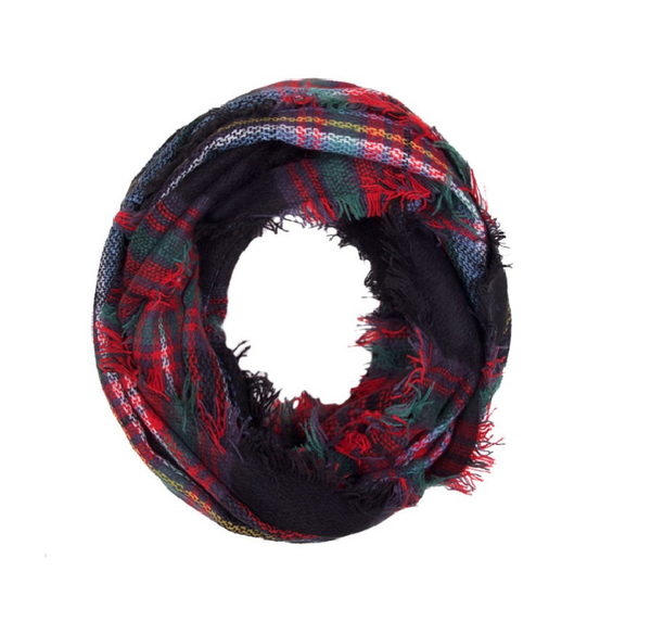 Fall infinity (Classic Black & Red Plaid)