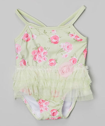 Garden Rose Tutu Swimsuit
