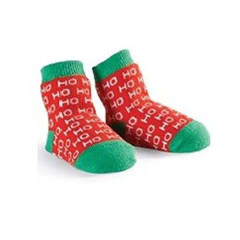 Holiday Infant Socks - Ho Ho Ho