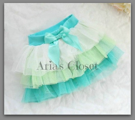 Green Ombre Tutu Skirt