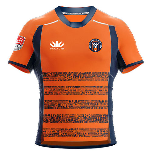 2021 Rugby United New York Away Jersey - Front