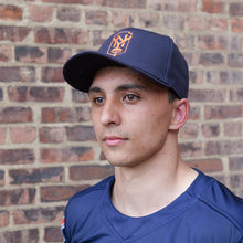 Load image into Gallery viewer, Rugby Unite New York Baseball Hat - Orange Shield Logo