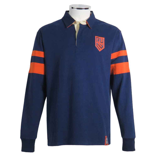 Rugby United New York Band Rugby Shirt by Ellis Rugby UK Front