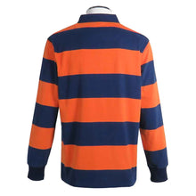 Load image into Gallery viewer, Rugby United New York Hooped Rugby Shirt by Ellis Rugby UK Back