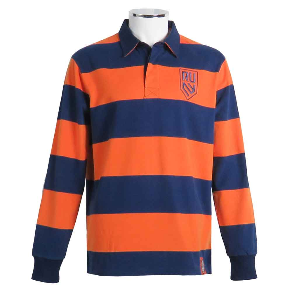Rugby United New York Hooped Rugby Shirt by Ellis Rugby UK Front
