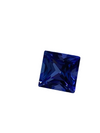 Authentic Princess Cut 3.25Ct Tanzanite Gemstone AAA
