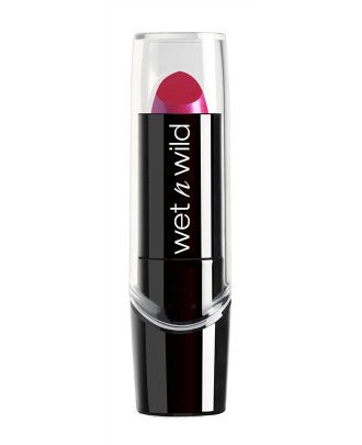 Wet n Wild Silk Finish Lipstick - Collection #2  - Mannix Knight United Kingdom -  Fuchsia w/ Blue Pearl - 1