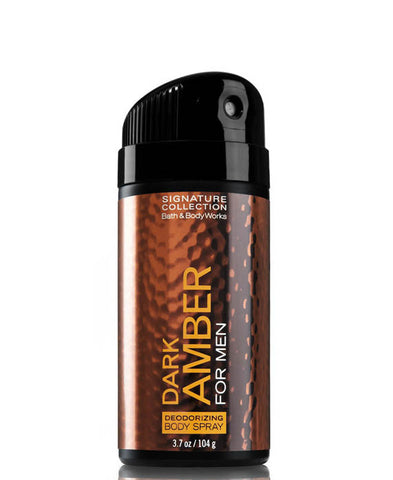 Bath & Body Works - Dark Amber Body Spray for Men  - Mannix Knight United Kingdom