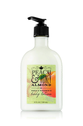 Bath & Body Works - Peach & Honey Almond Body Lotion  - Mannix Knight United Kingdom
