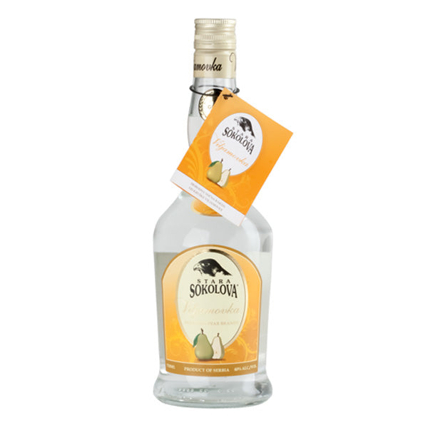 STARA SOKOLOVA Viljamovka [Williams Pear Brandy] 6/750ml