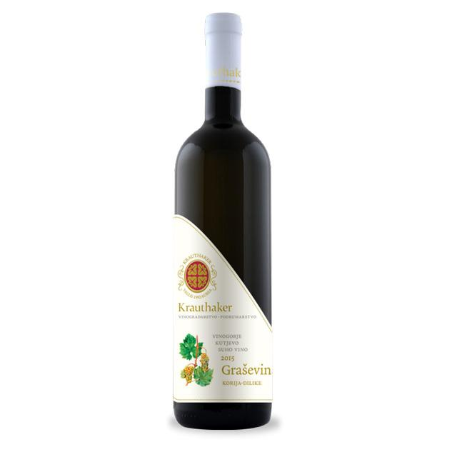 KRAUTHAKER Grasevina High Quality White Wine 6/750ml