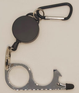 DON'T TOUCH THAT! Retractable Keychain