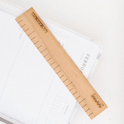 Pocket ruler