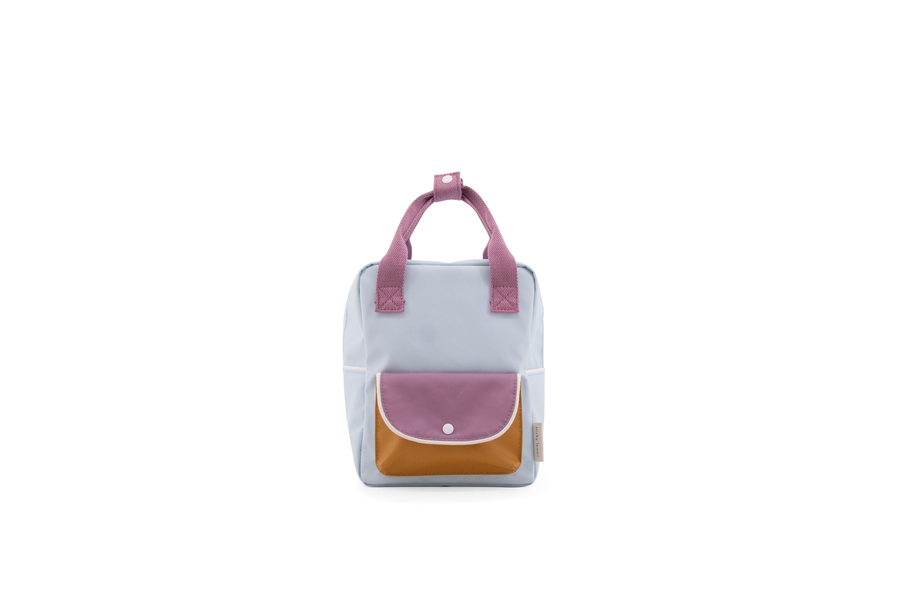 Small Backpack | sky blue + pirate purple