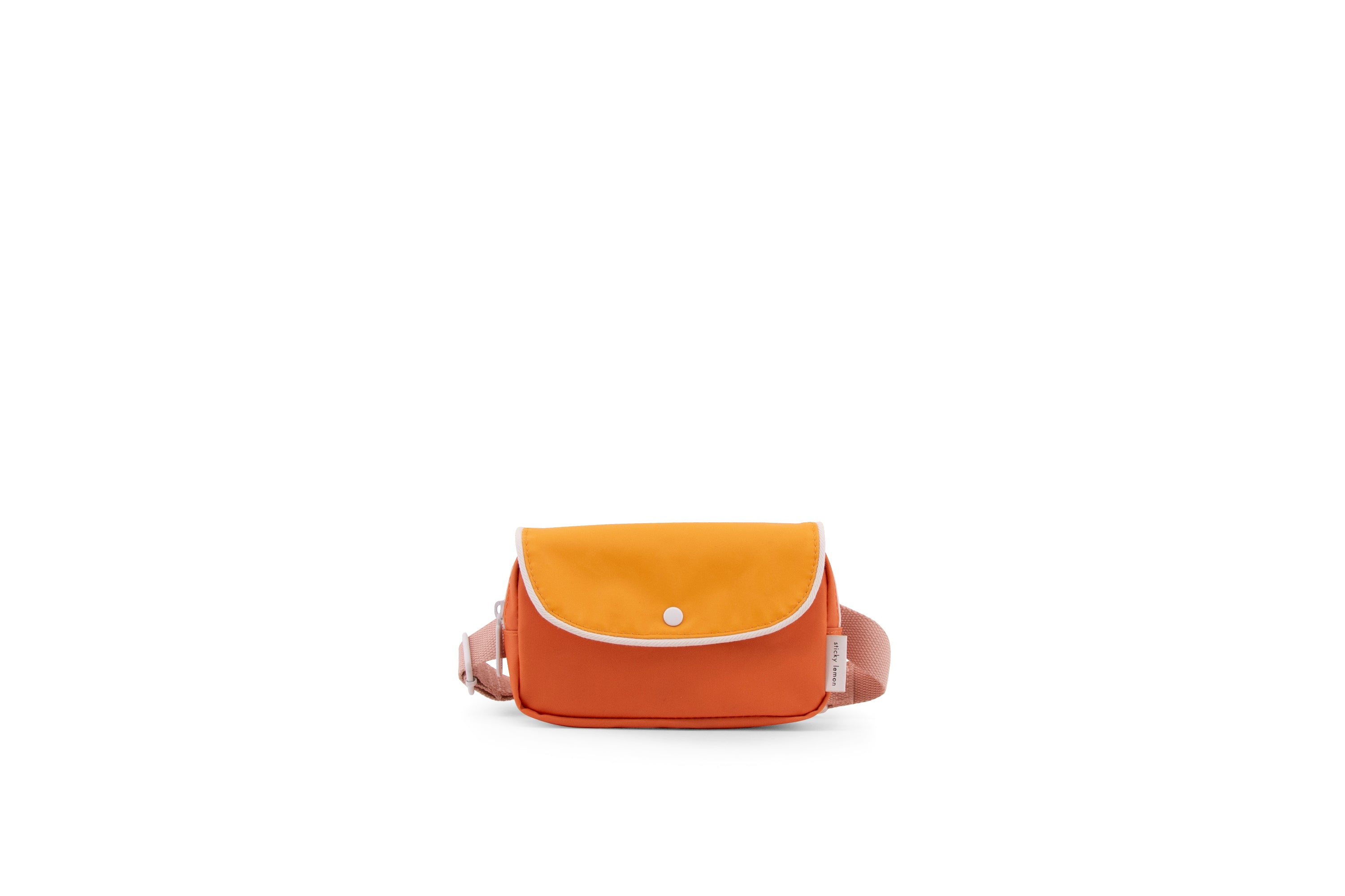 Fanny pack  | carrot orange + sunny yellow + candy pink