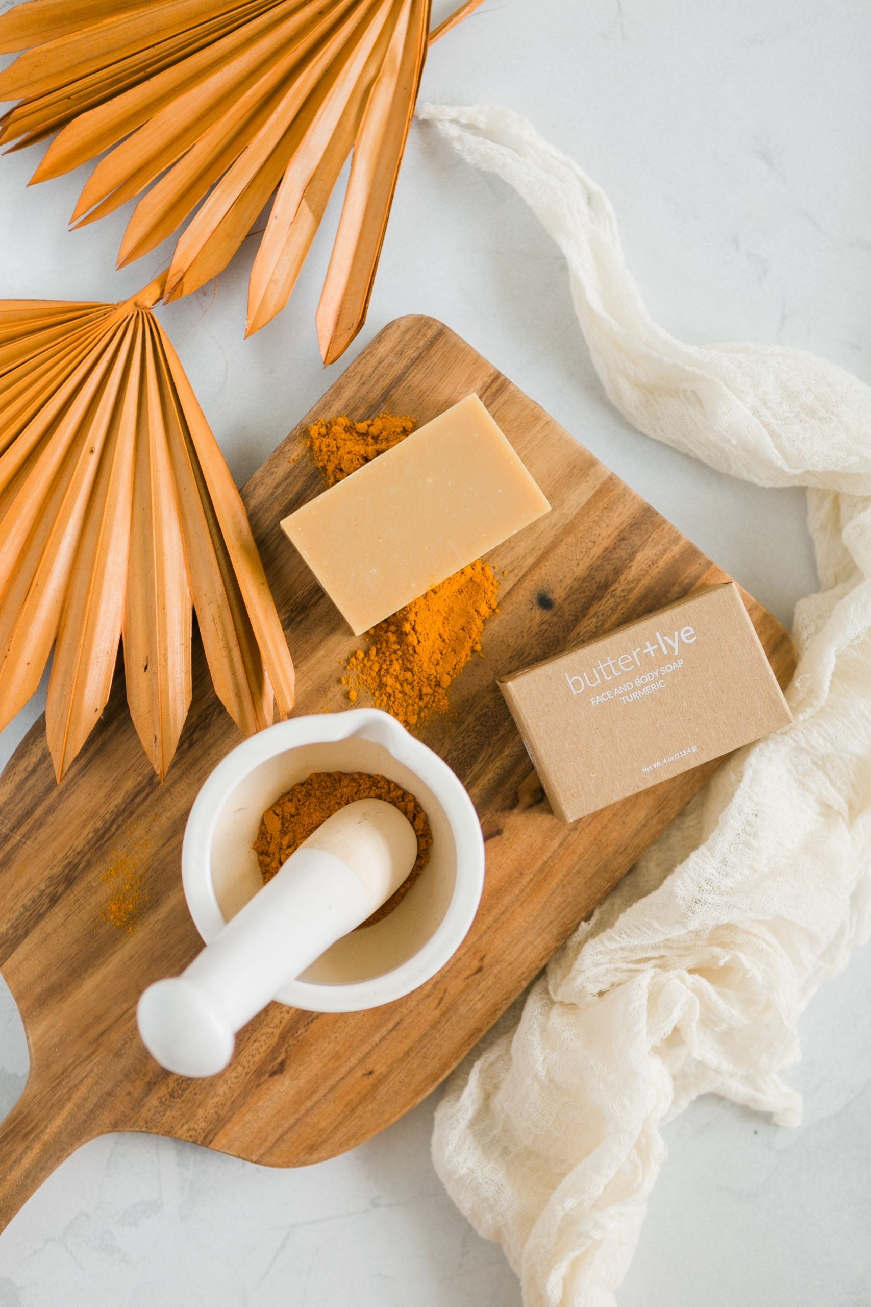 HEALING TURMERIC FACE AND BODY SOAP