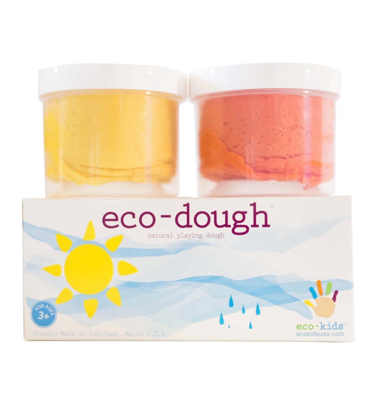 Eco-dough 2 pack // Sun