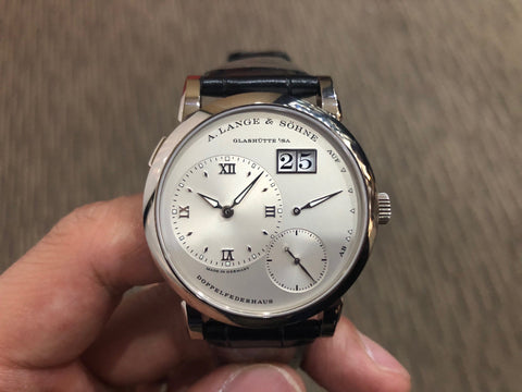 -SOLD- A. Lange & Sohne Lange 1 White Gold 191.039