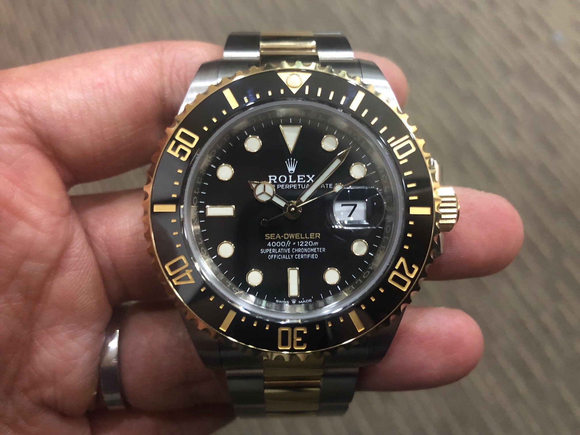 -SOLD- Rolex Sea Dweller Two Toned 126603