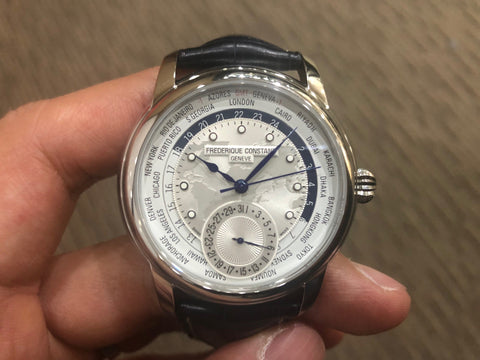 -SOLD- Frederique Constant Manufacture Worldtimer