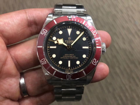 -SOLD- Tudor Black Bay Burgundy 79230R