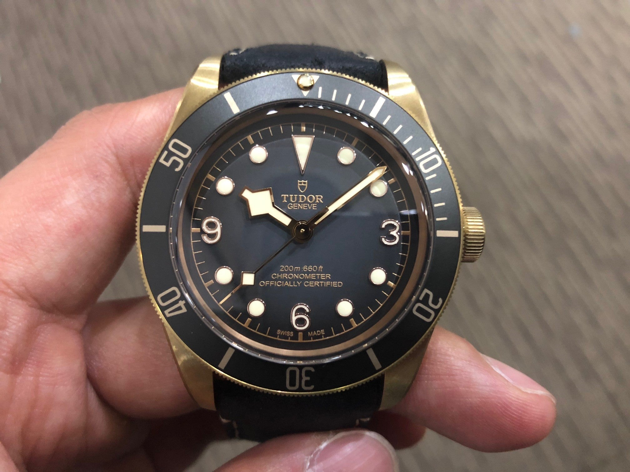 -SOLD- Tudor Black Bay Bronze Slate Grey 79250BA