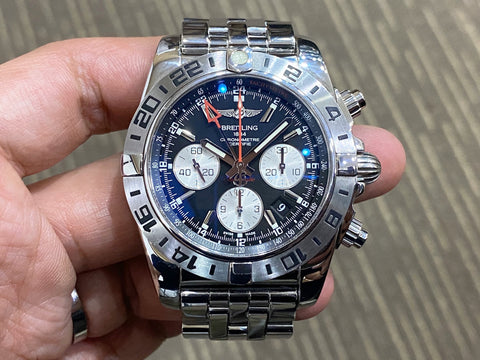 -Pre Owned- Breitling Chronomat GMT 44