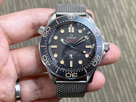 -Brand New *Price On Request*- Omega Seamaster 300 SM300 James Bond 007 No Time To Die