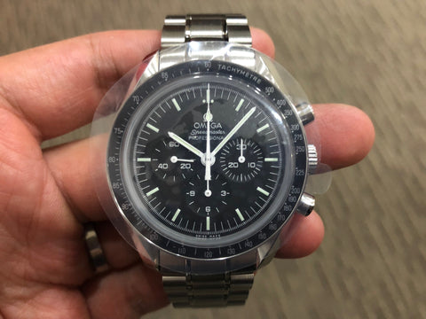 -Brand New- Omega Speedmaster Moonwatch Sapphire Big Box