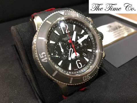 -SOLD- Jaeger LeCoultre Master Compressor Navy Seals GMT Chronograph Limited 1,500 Pieces Q178T677