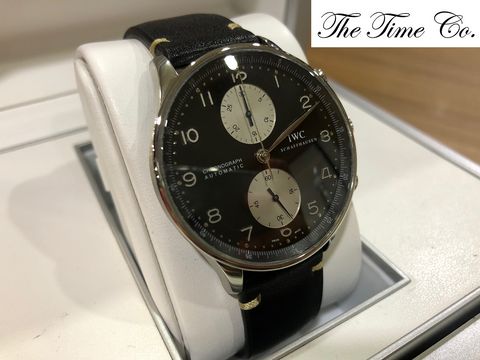 "-Pre Owned- IWC Portuguese IW3714-04 ""Anthony Zimmer"""